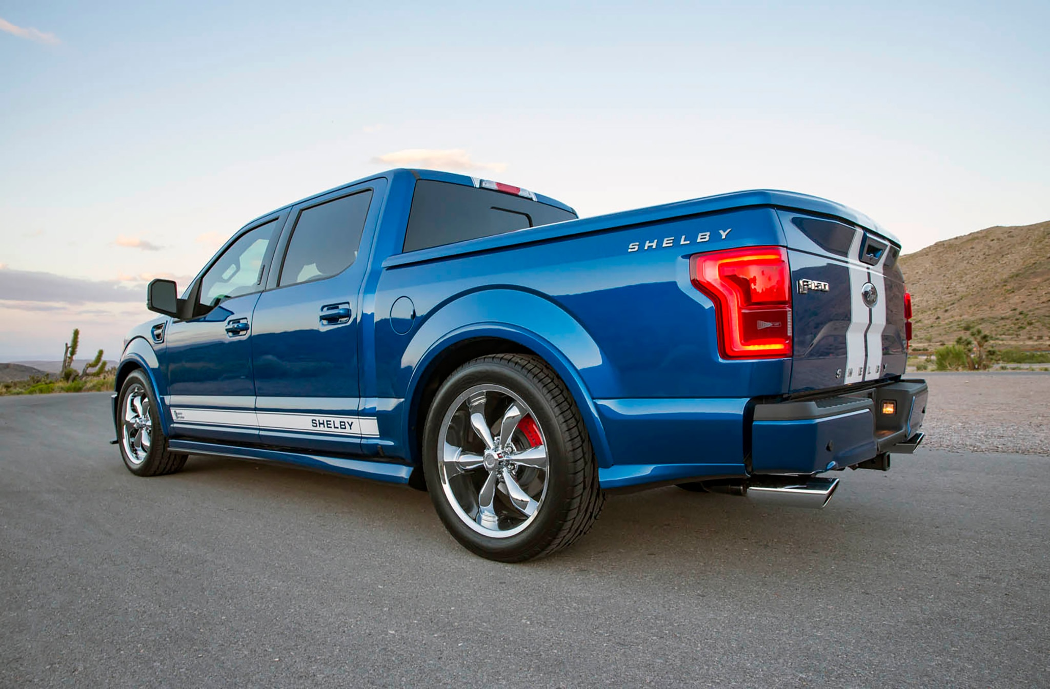 Shelby Truck 2017 >> Shelby F-150 Super Snake Returns for 2017 | Automobile Magazine