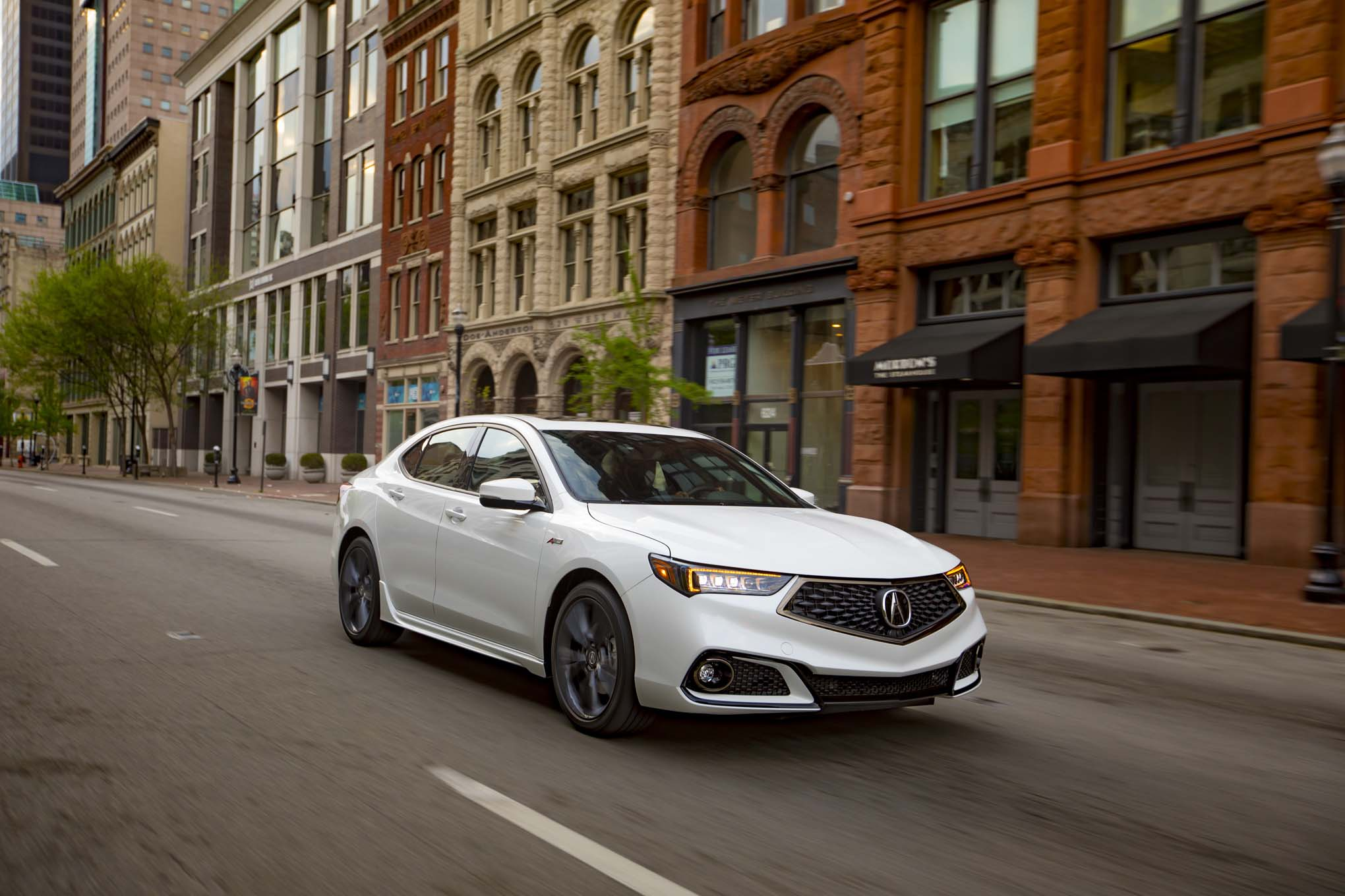 Acura TLX SHAWD ASpec First Drive Review Automobile Magazine - 2018 tl acura