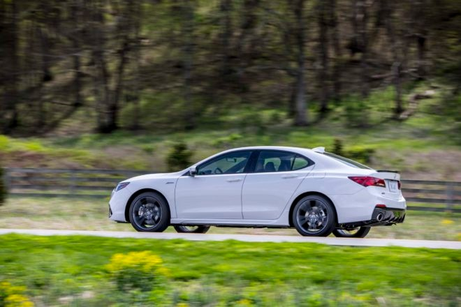 2018 Acura TLX SH-AWD A-Spec First Drive Review ...