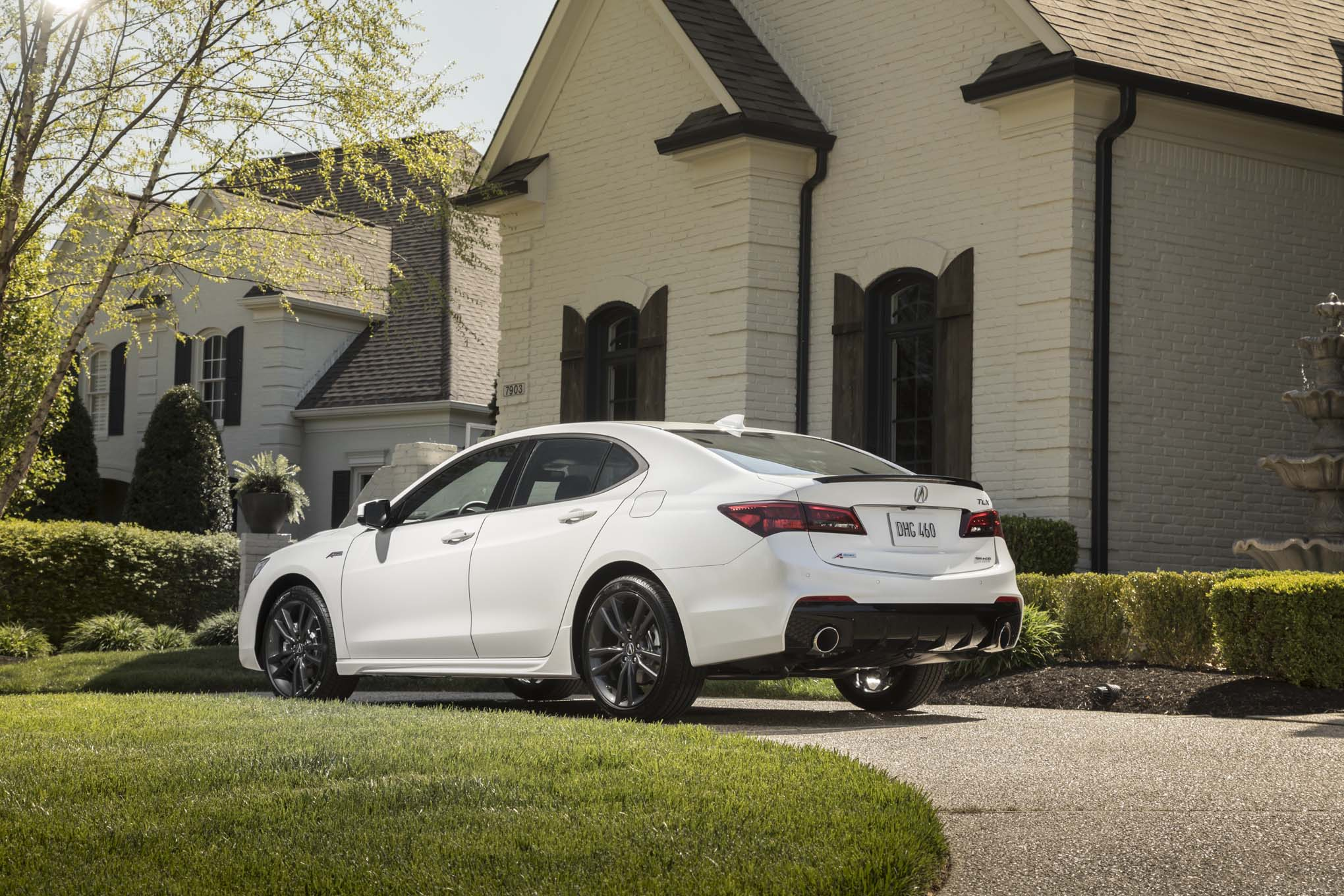 Acura TLX SHAWD ASpec First Drive Review Automobile Magazine - 2018 acura tsx coilovers