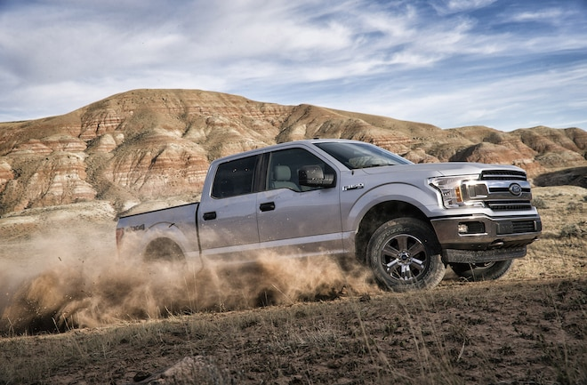 2018 Ford F150 Moving