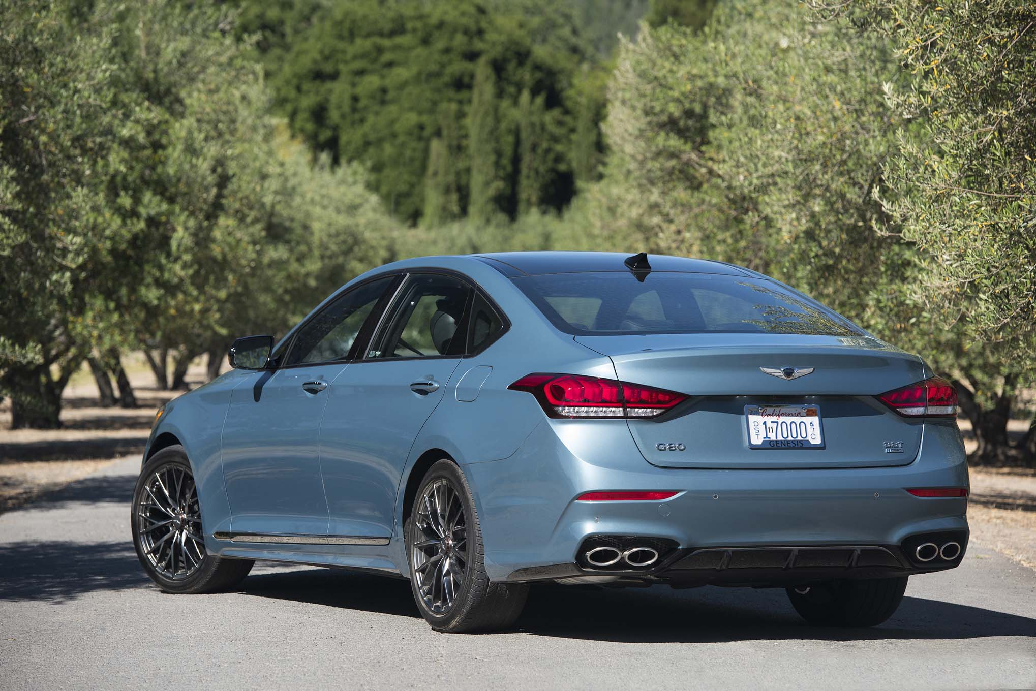 2018 Genesis G80 Sport First Drive Review Automobile Magazine