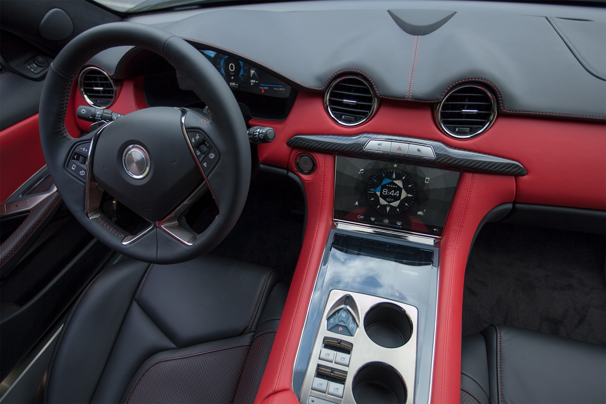 2018 karma revero first drive review automobile magazine. Black Bedroom Furniture Sets. Home Design Ideas