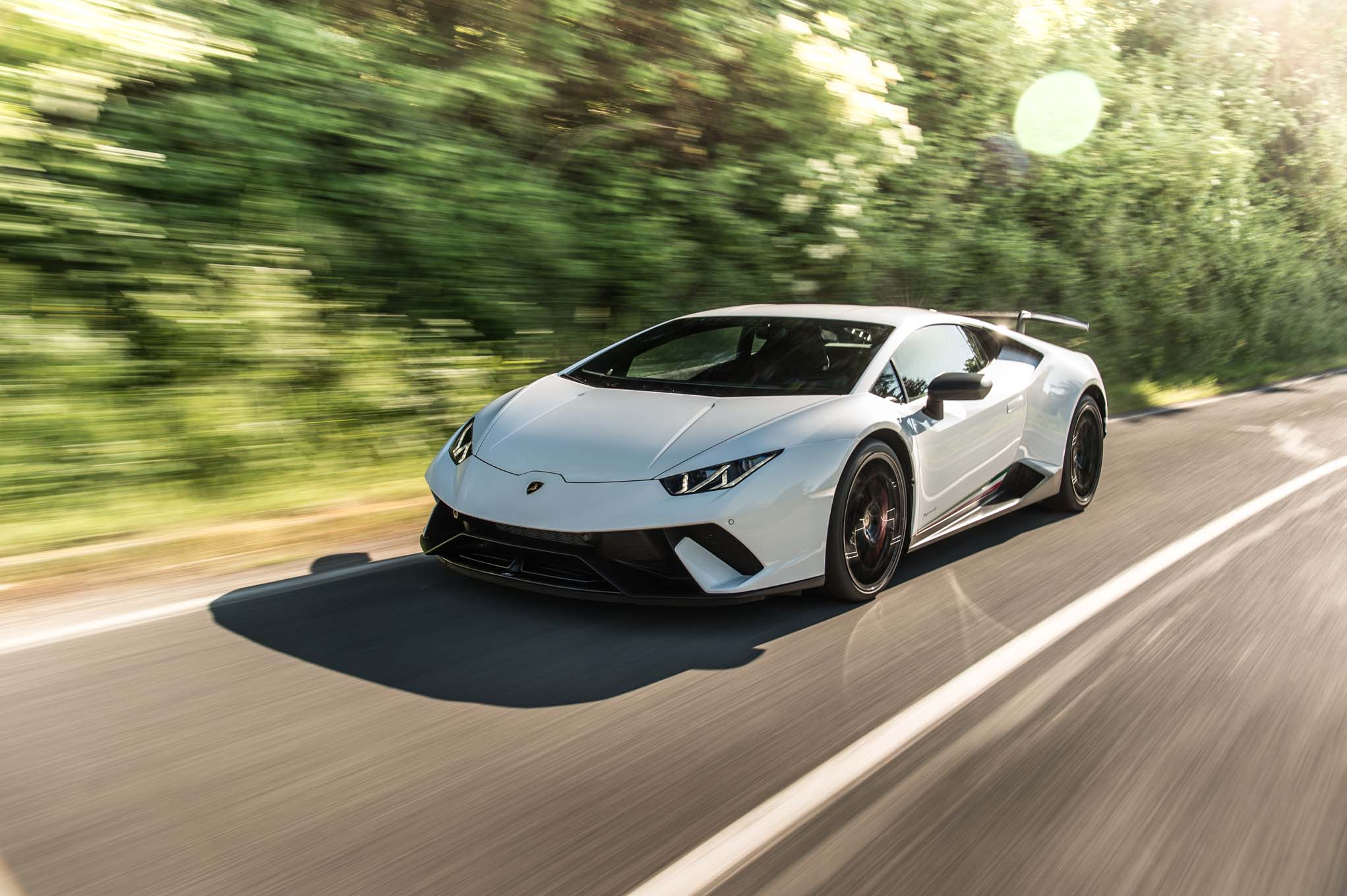 2018 Lamborghini Huracan Performante First Drive Review Automobile Magazine
