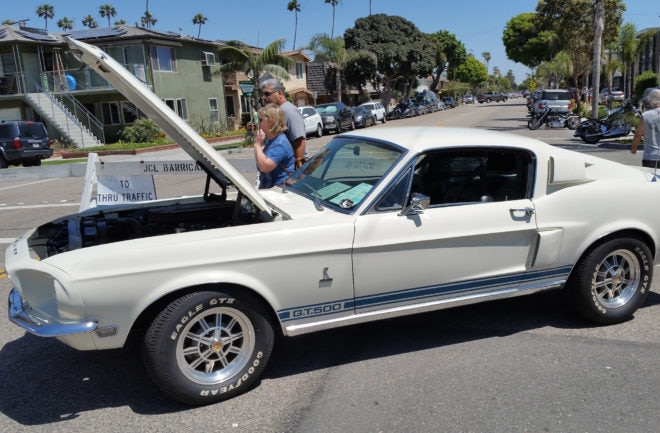 30th Seal Beach Classic Car Show 1967 Shelby GT500