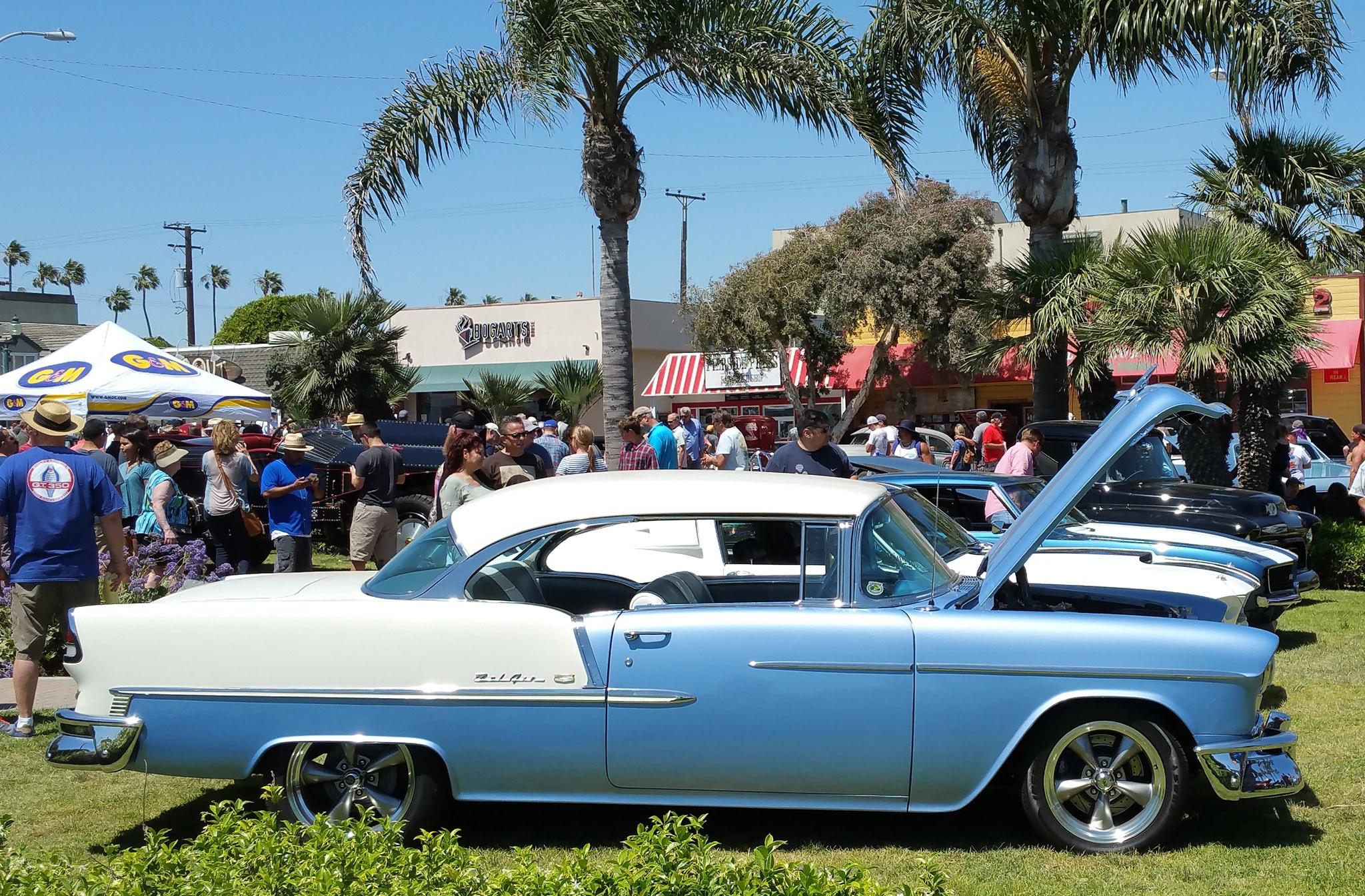 The Vintage Metal Of The Th Annual Seal Beach Classic Car Show - Seal beach car show
