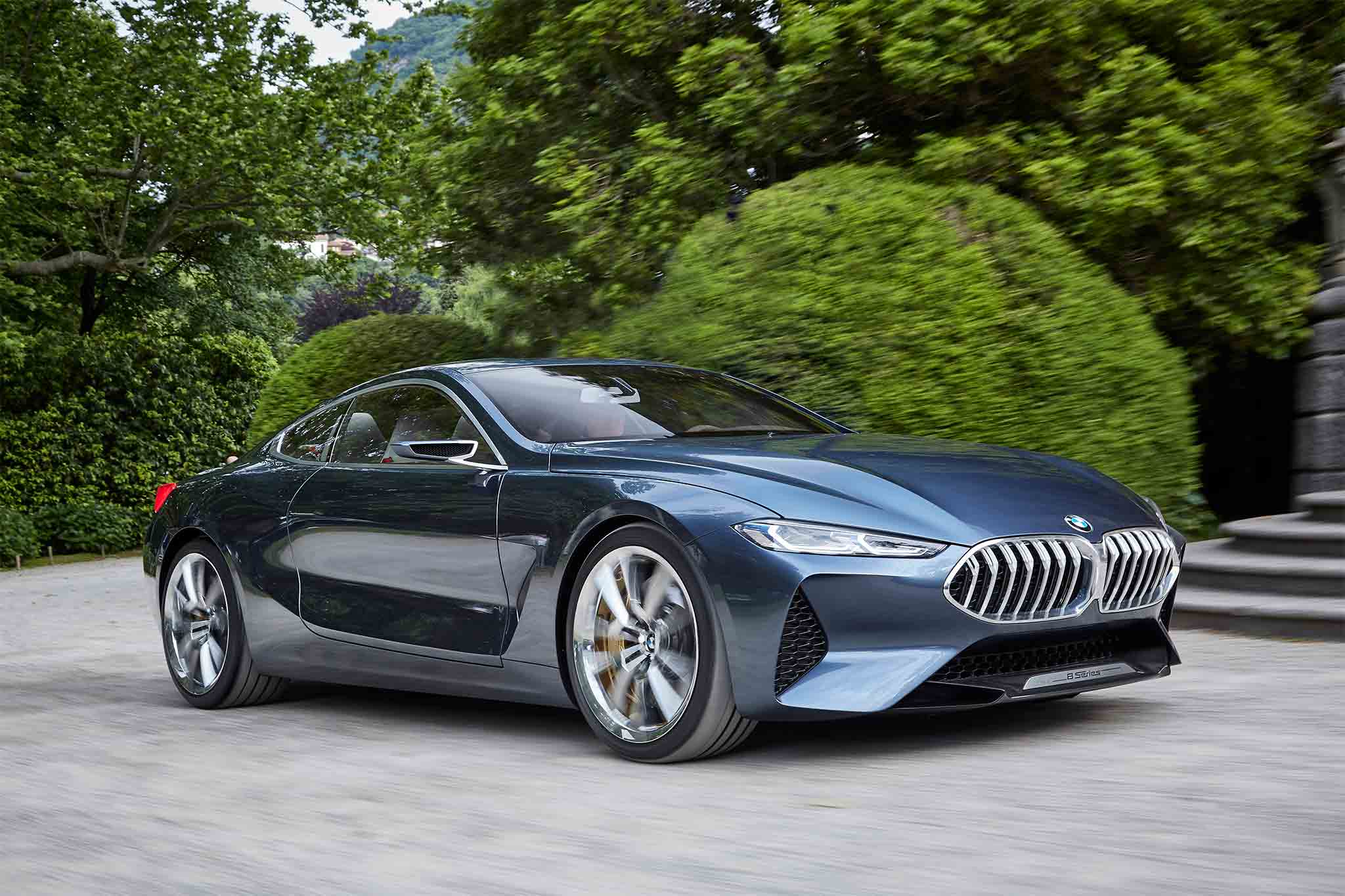 Exclusive: BMW 8 Series Concept Quick Drive | Automobile ...