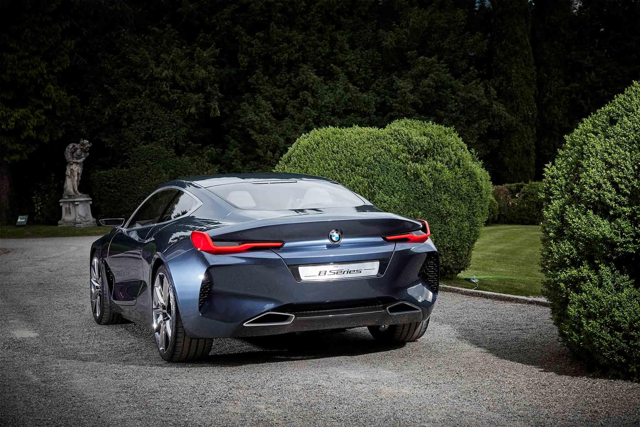 Exclusive: BMW 8 Series Concept Quick Drive | Automobile ...