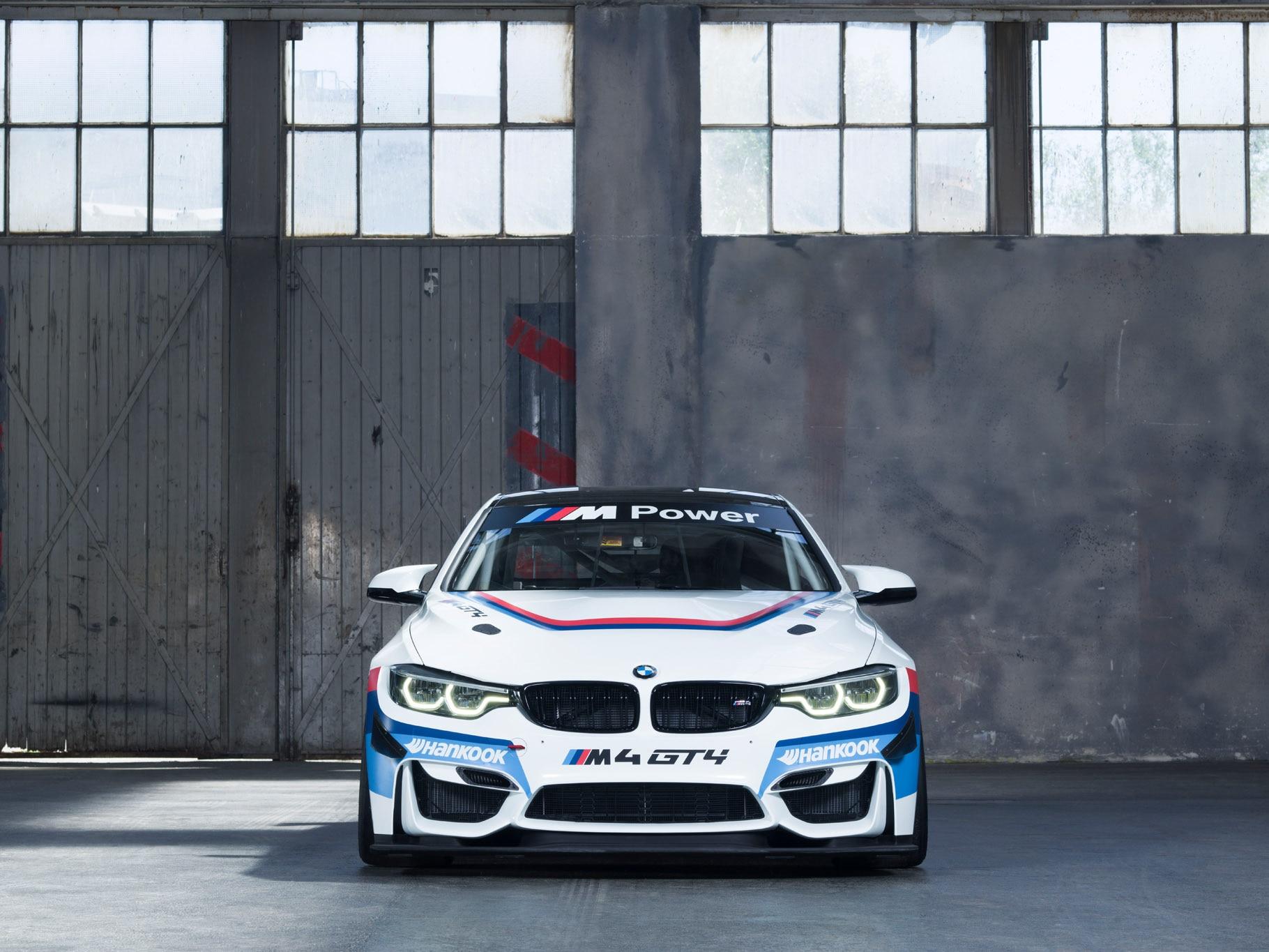 BMW M4 GT4 Front