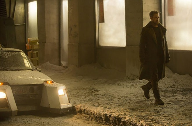 Blade Runner 2049 Ryan Gosling Snow