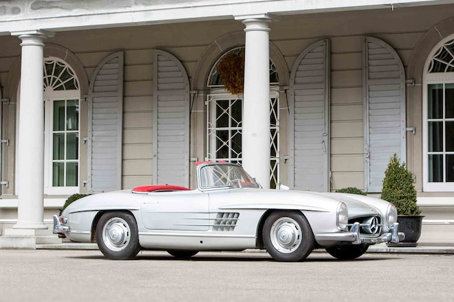12 car collection found in swiss castle sells for 23 million