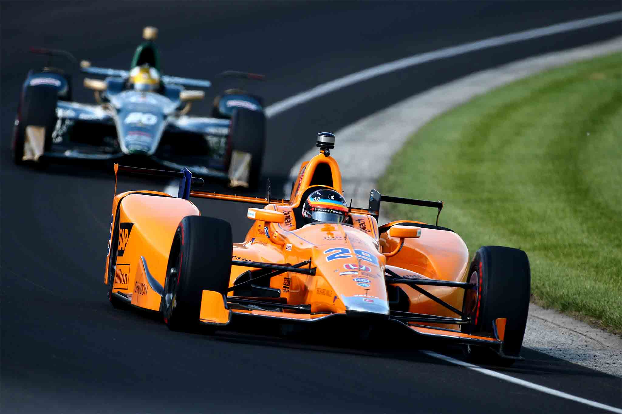 Fernando Alonso Prepares For Indianapolis 500 01