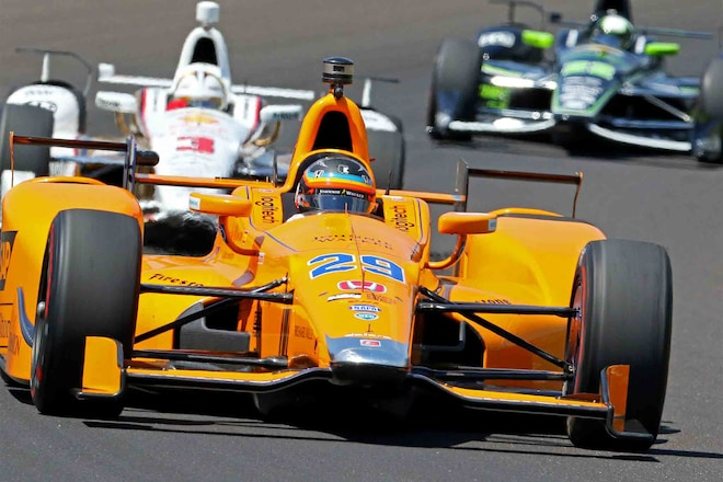 Fernando Alonso Prepares For Indianapolis 500 07