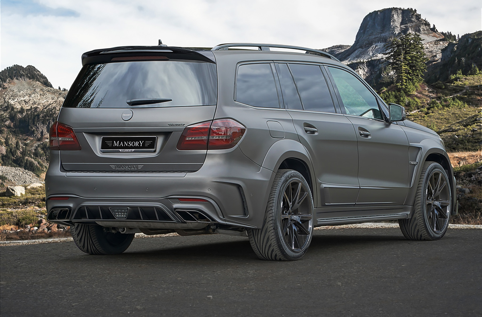 Mansory Debuts Its Version Of The Mercedes Amg Gls 63
