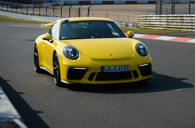 Porsche 911 GT3 On The Nürburgring Nordschleife