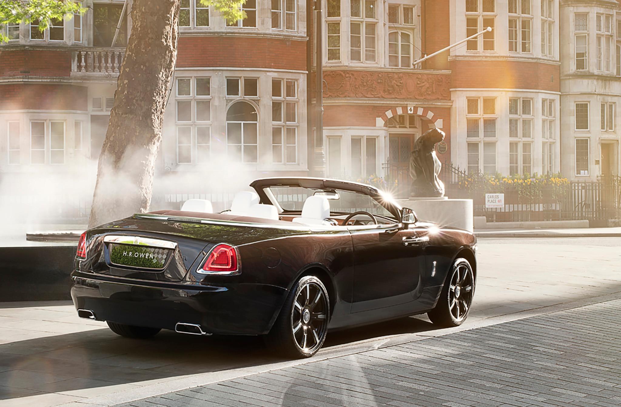 London Motor Cars >> Rolls-Royce Dawn Mayfair Edition Offered by H.R. Owen ...