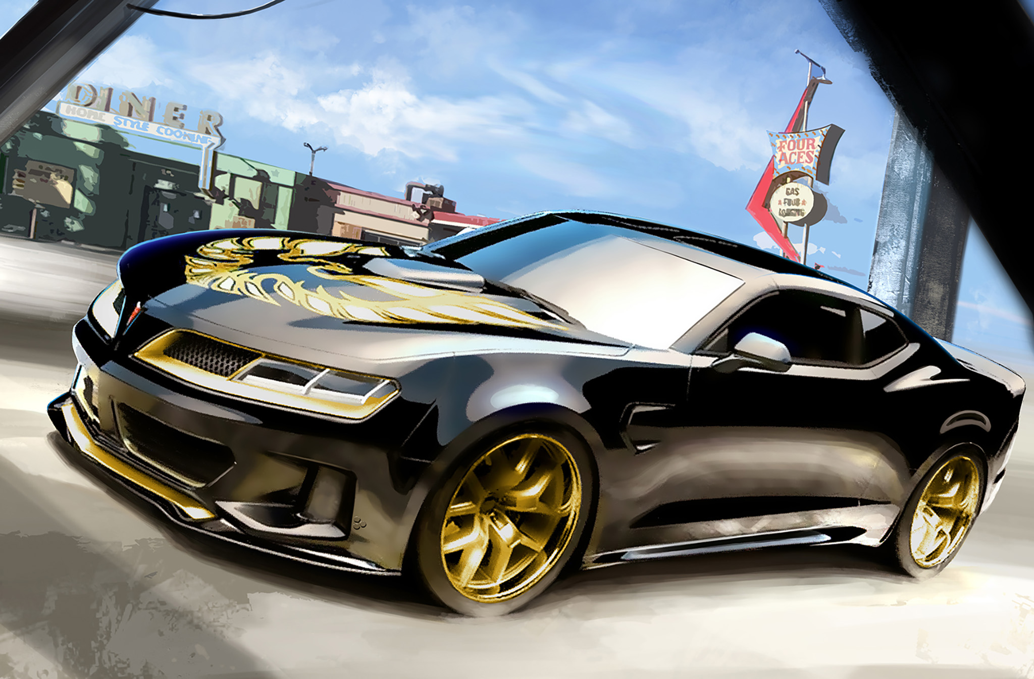 Smoky And The Bandit Trans Am By Inspire Lab on Honda Civic Magazine