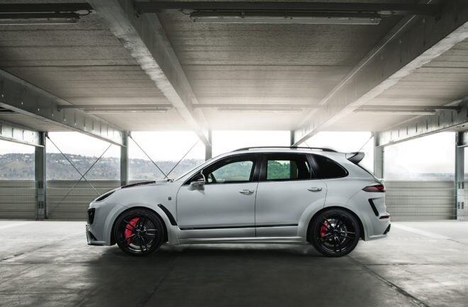 Techarts Magnum Sport Porsche Cayenne Turbo S Offers 720 Horsepower