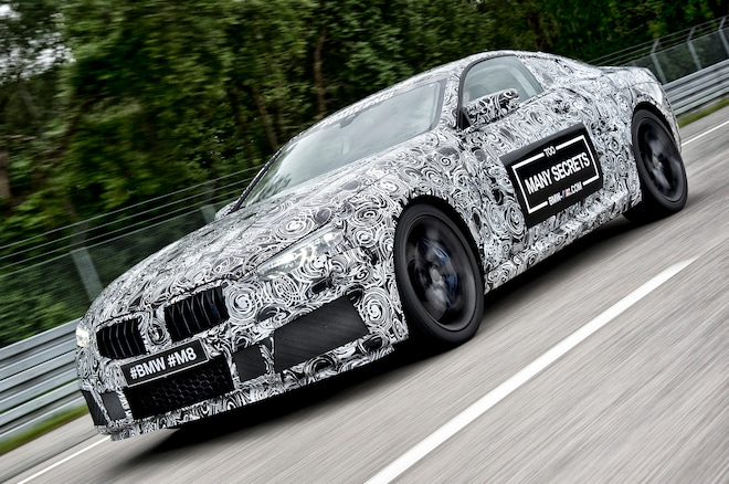 Bmw M8 Prototype Front Three Quarter Motion