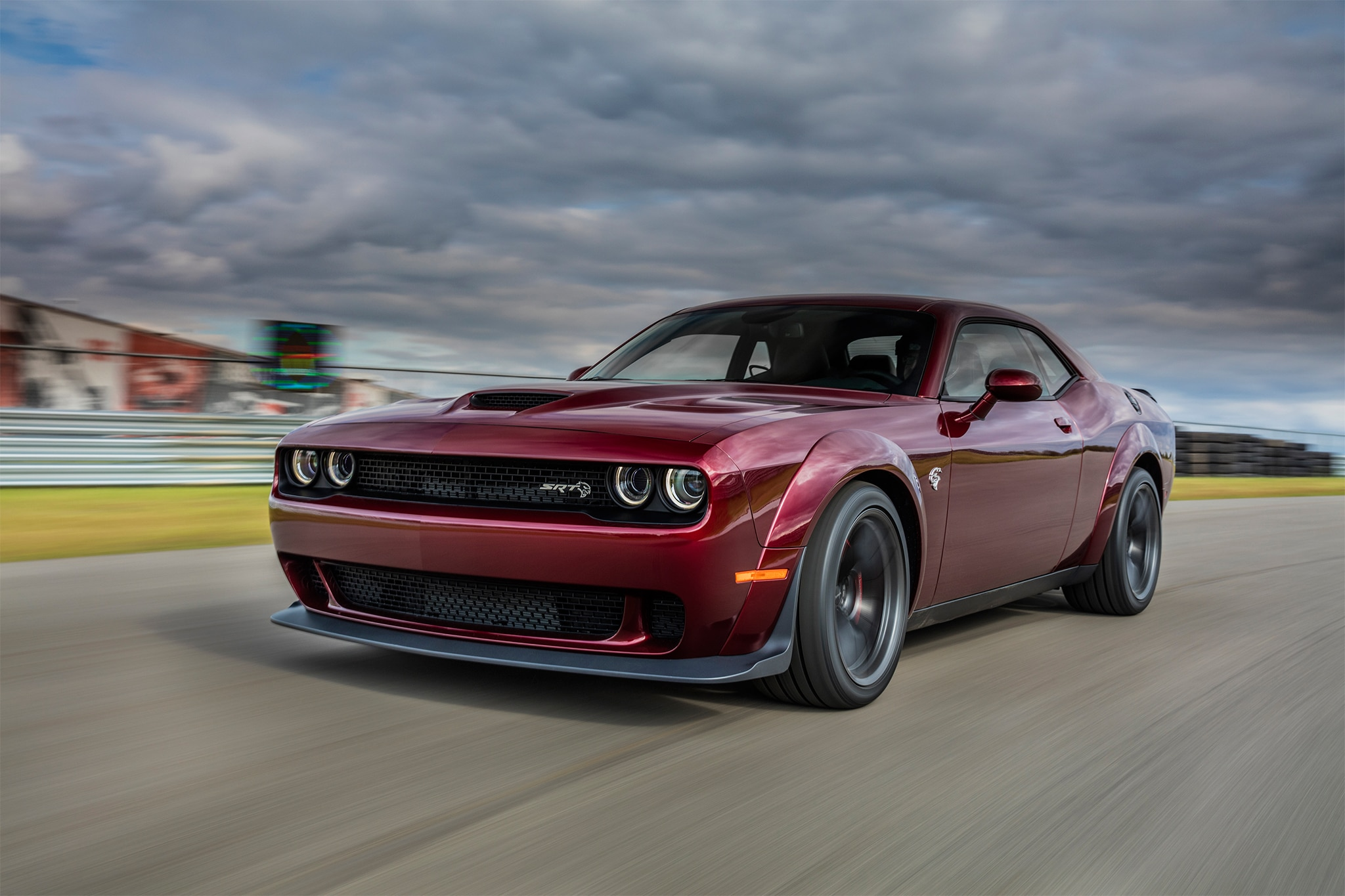 Challenger Srt Hellcat Gets A Widebody For 2018 Automobile Magazine