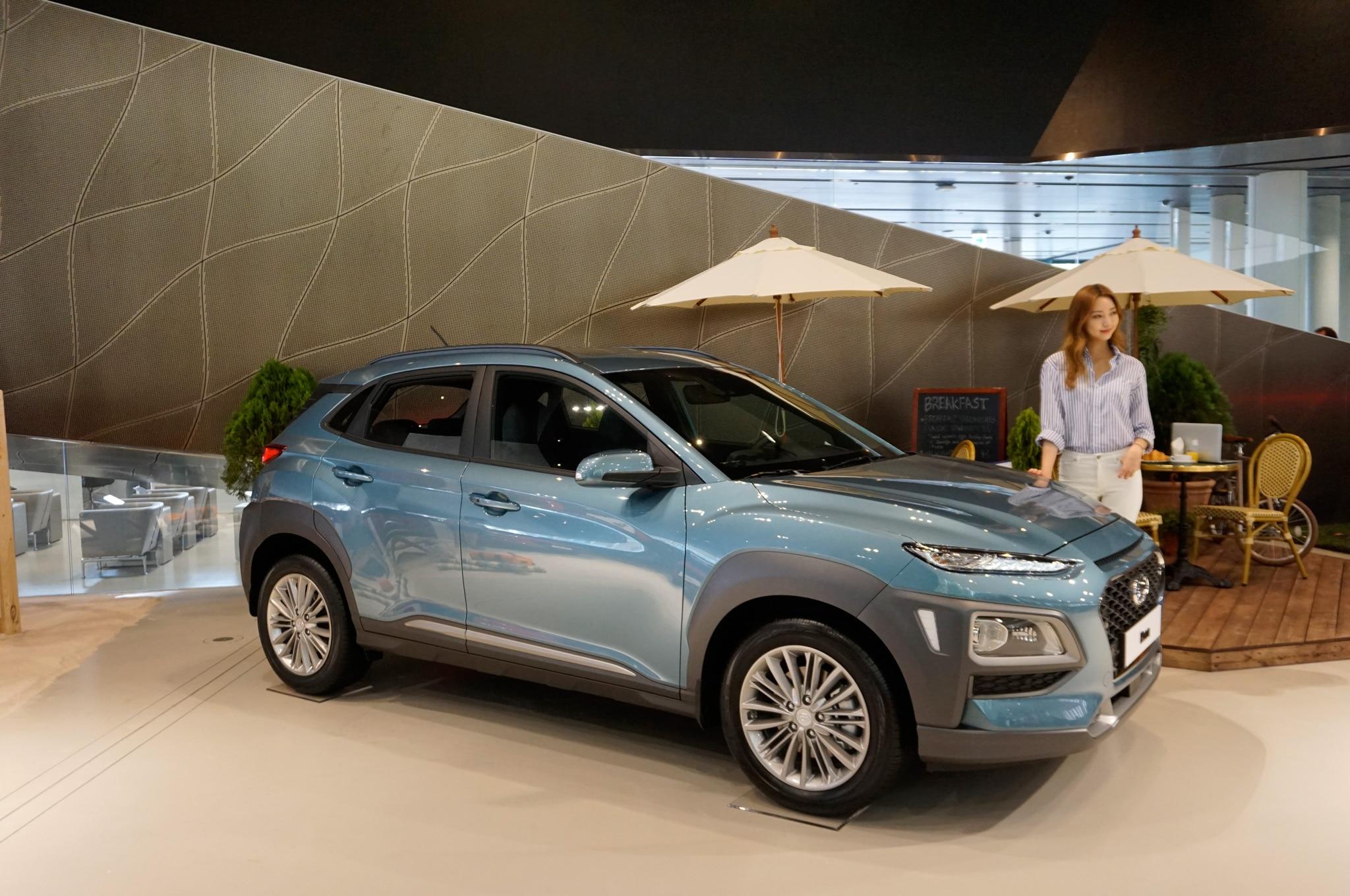 2018 Hyundai Kona Debuts Fresh Face New Small Suv