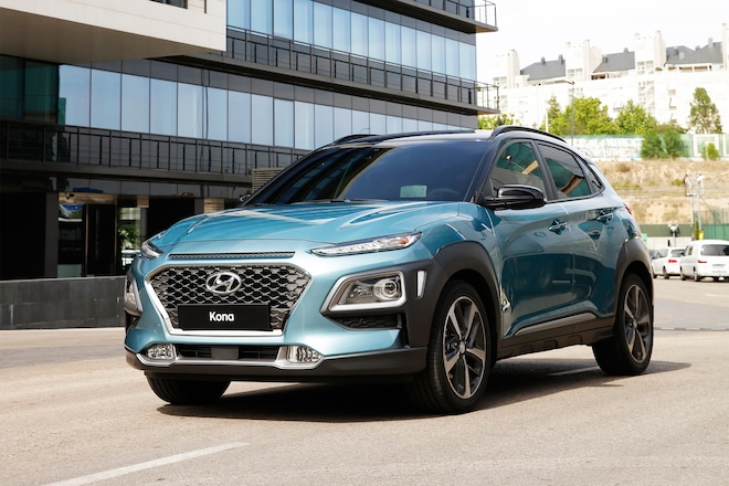 New Small Suv Platform 2018 Hyundai Kona Front Three Quarter 01