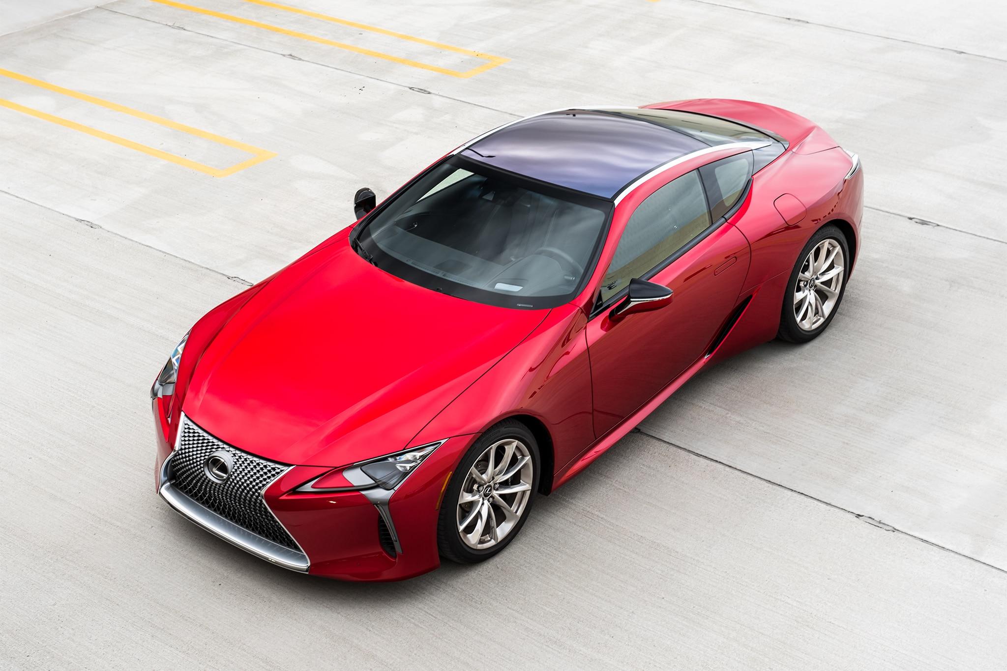 One Week With 2018 Lexus Lc 500 Automobile Magazine