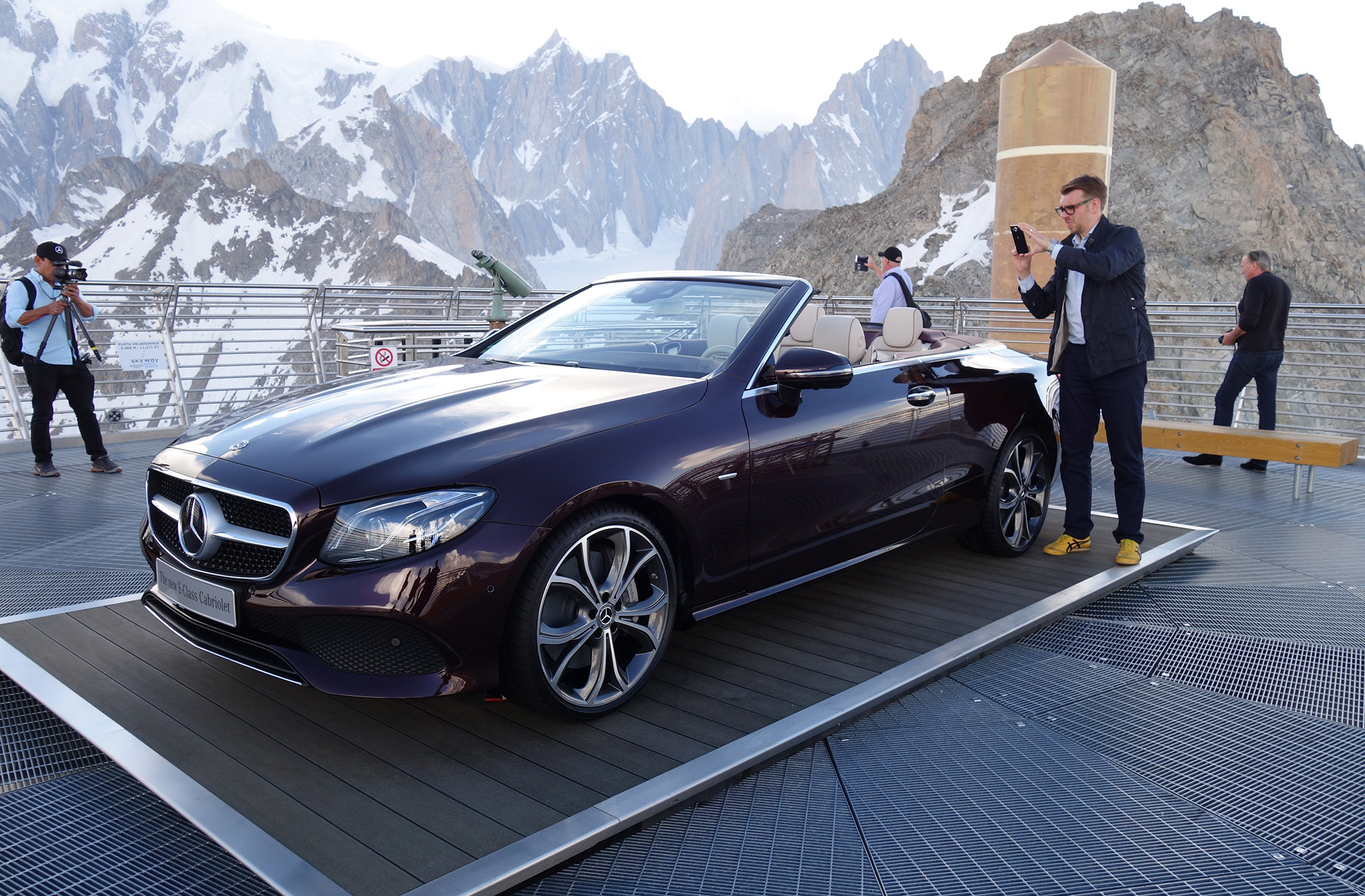 Drop Top Of The World For 2018 Mercedes Benz E Cl Cabriolet Automobile Magazine