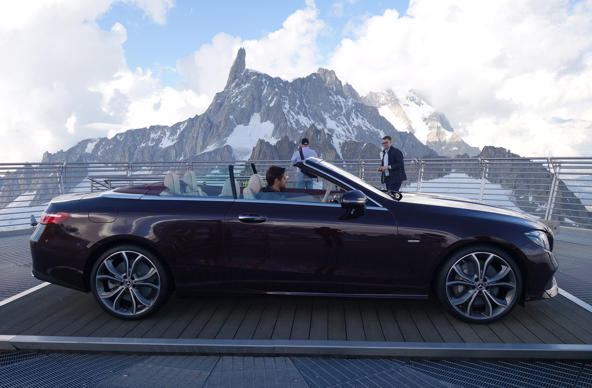Mercedes Wants You To Know That Its Convertibles Are Designed For All Year Driving Under The Most Extreme Conditions But More On Later
