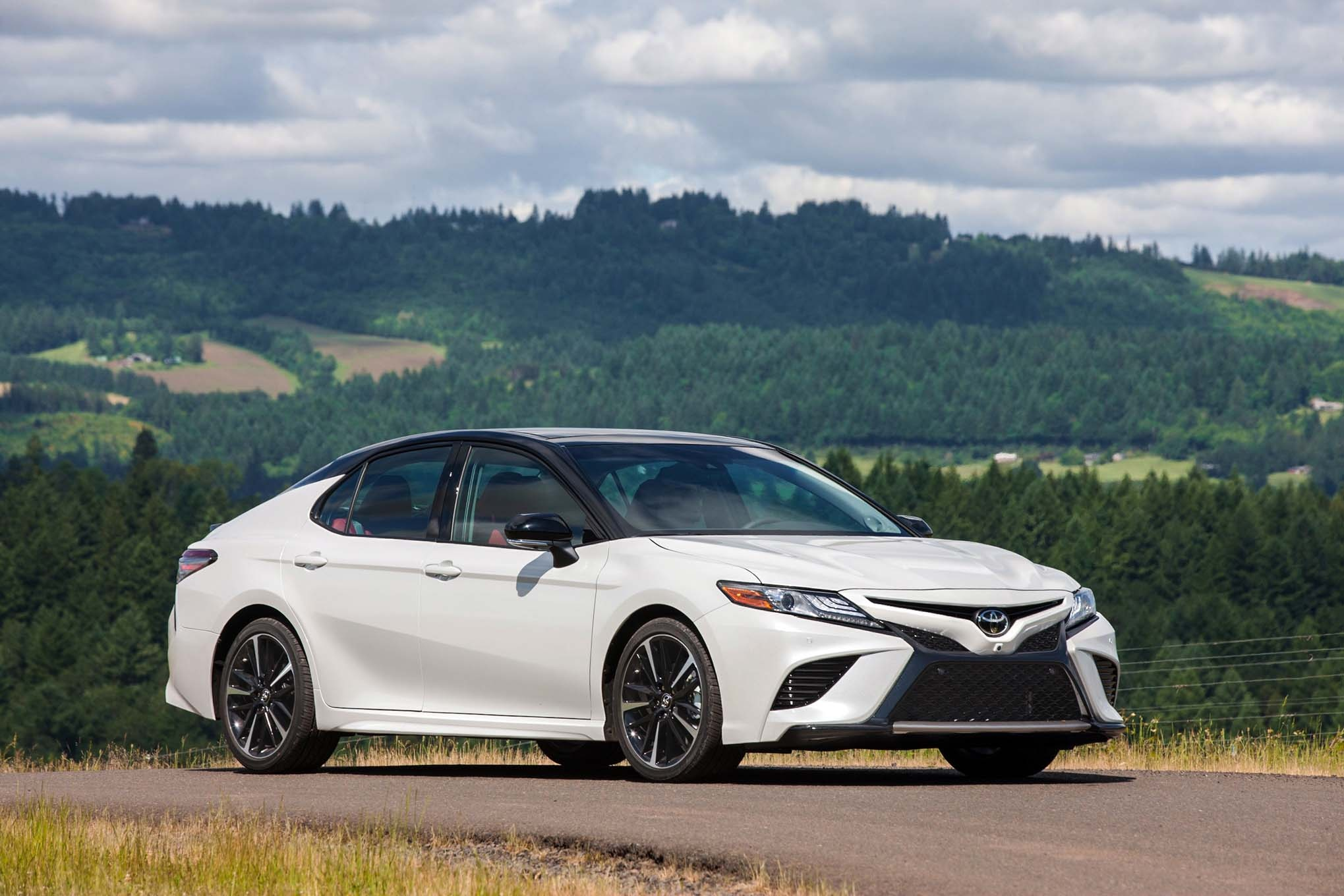 2018 Toyota Camry First Drive Review Automobile Magazine