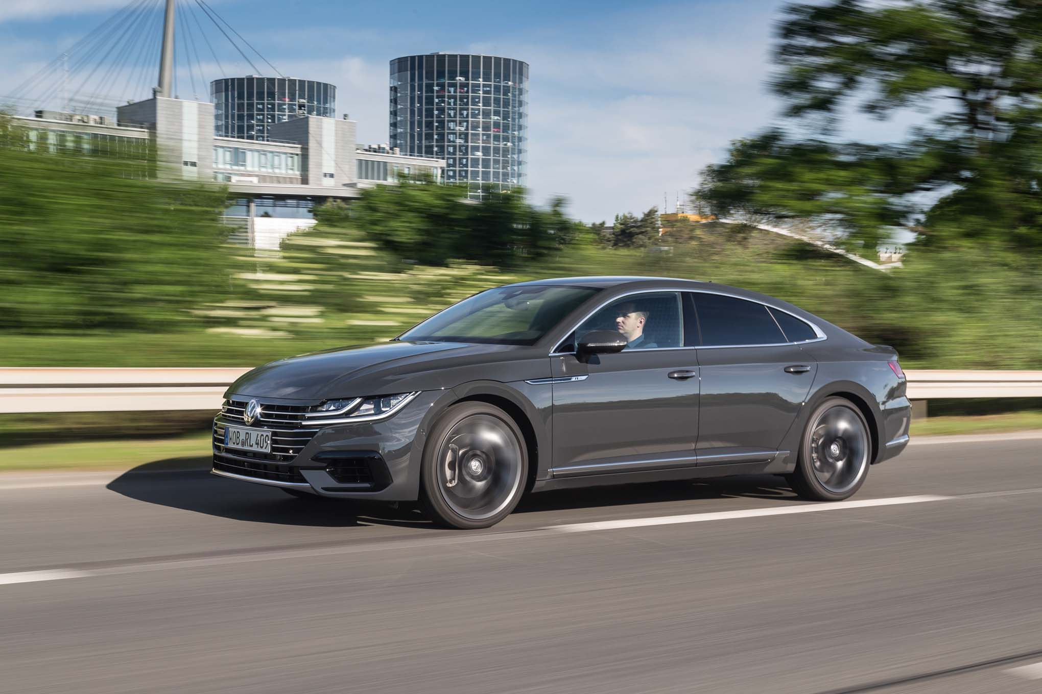 2019 volkswagen arteon first drive review automobile. Black Bedroom Furniture Sets. Home Design Ideas