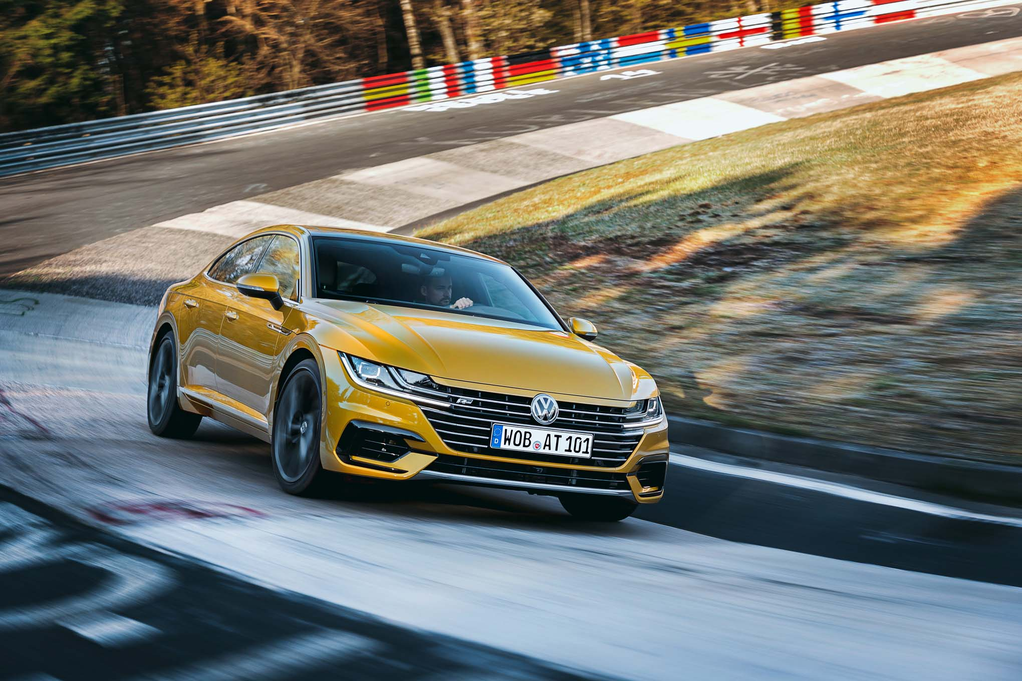 2019 volkswagen arteon first drive review automobile magazine. Black Bedroom Furniture Sets. Home Design Ideas