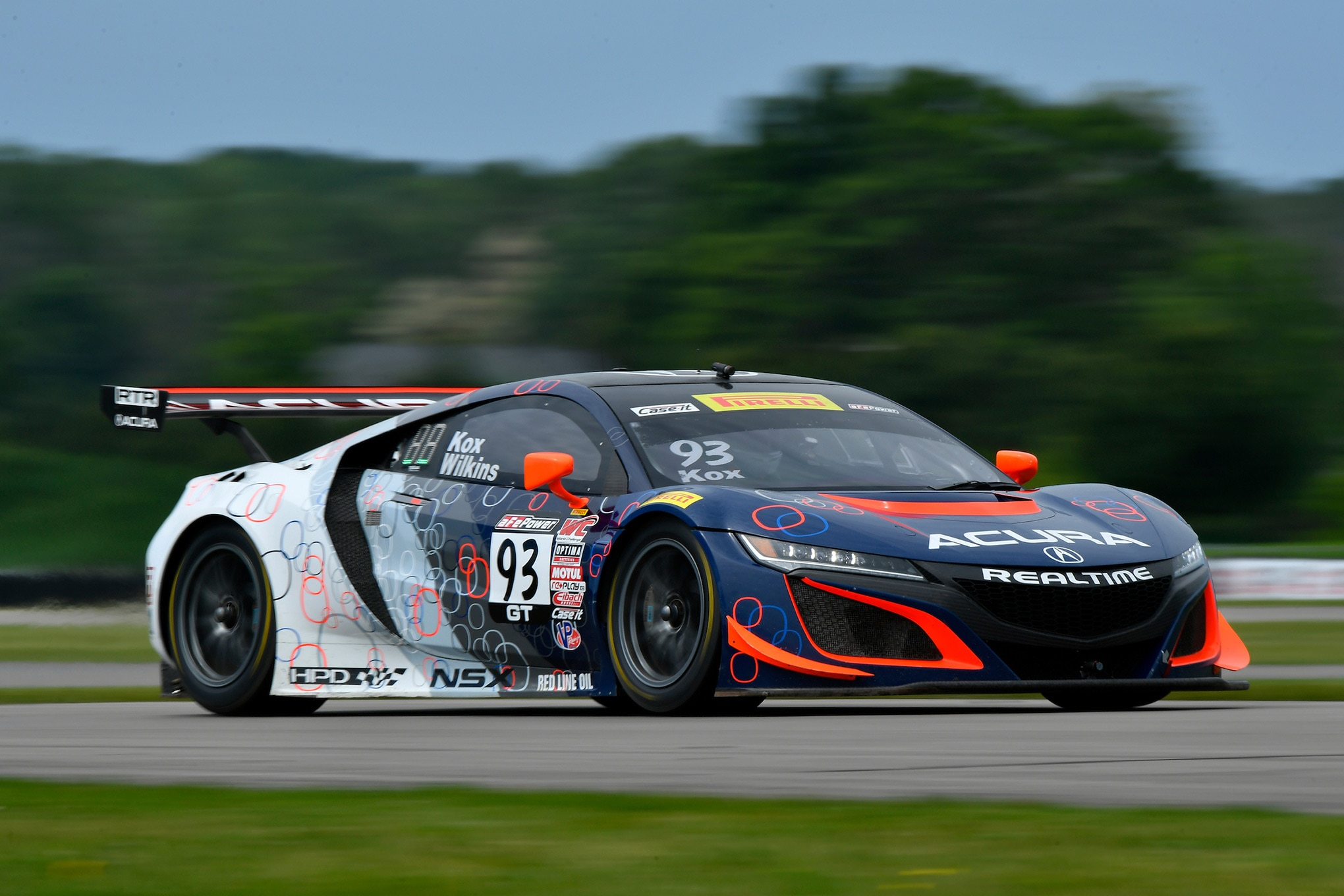 Acura NSX GT3 Race Car 29