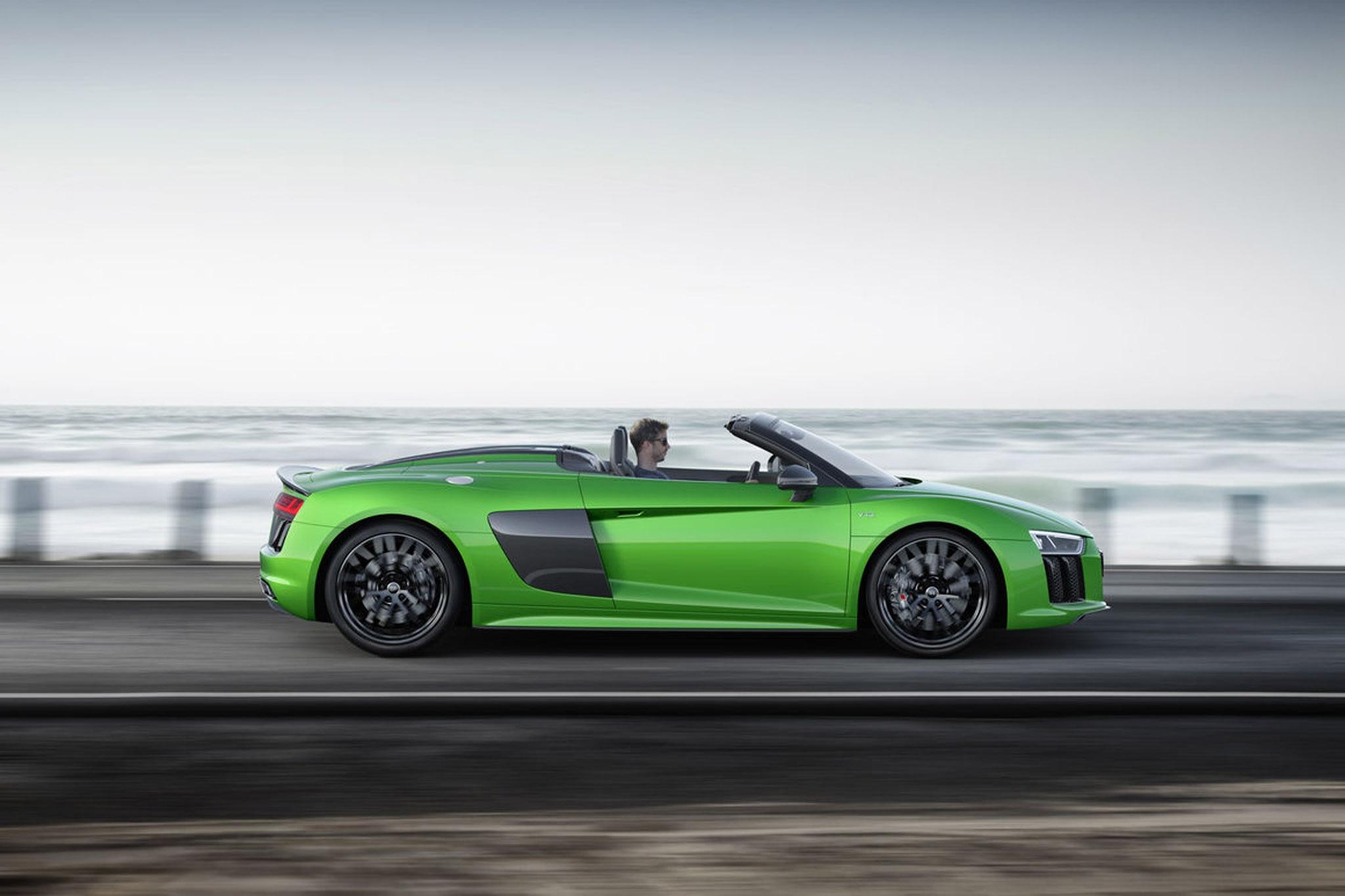 2018 audi r8 spyder v10 plus drops with 610 horsepower | automobile