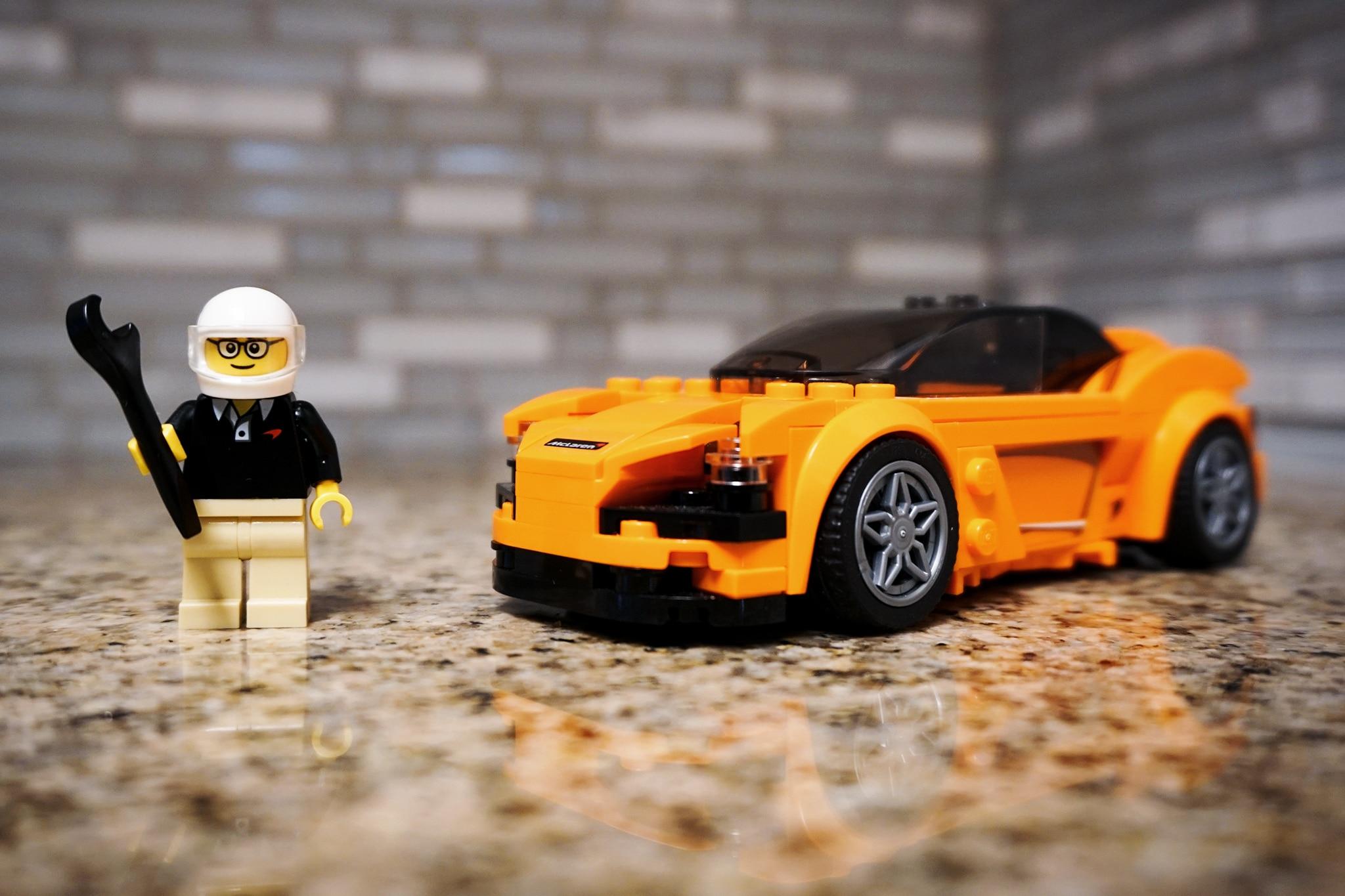 Lego McLaren 720S 10
