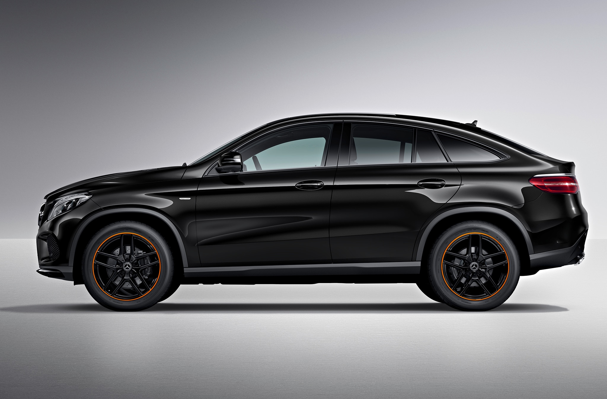 orangeart is the new edition for mercedes benz gle coupe