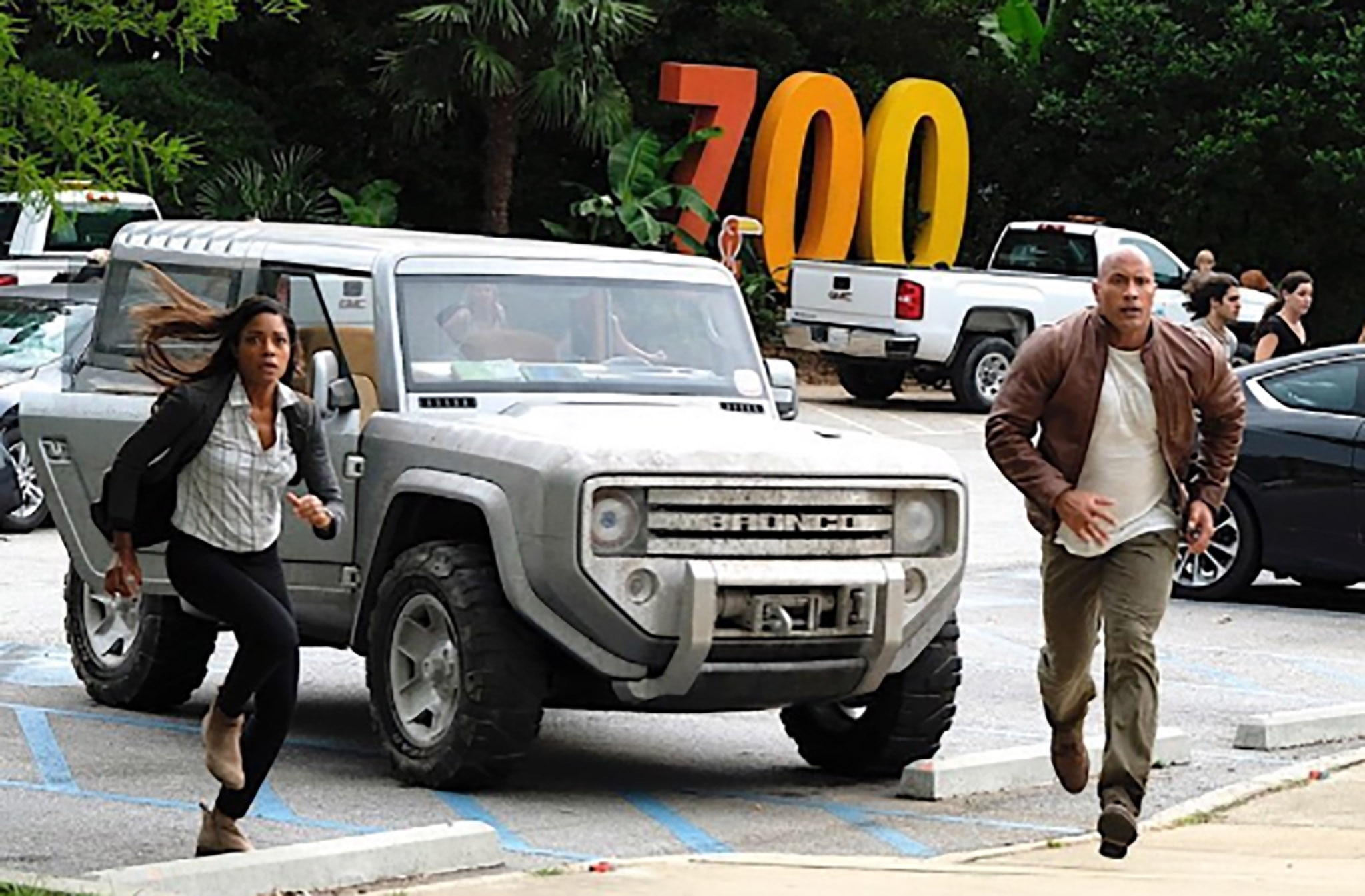 Sort-of-new Ford Bronco Co-Stars with The Rock in Upcoming Movie | Automobile Magazine
