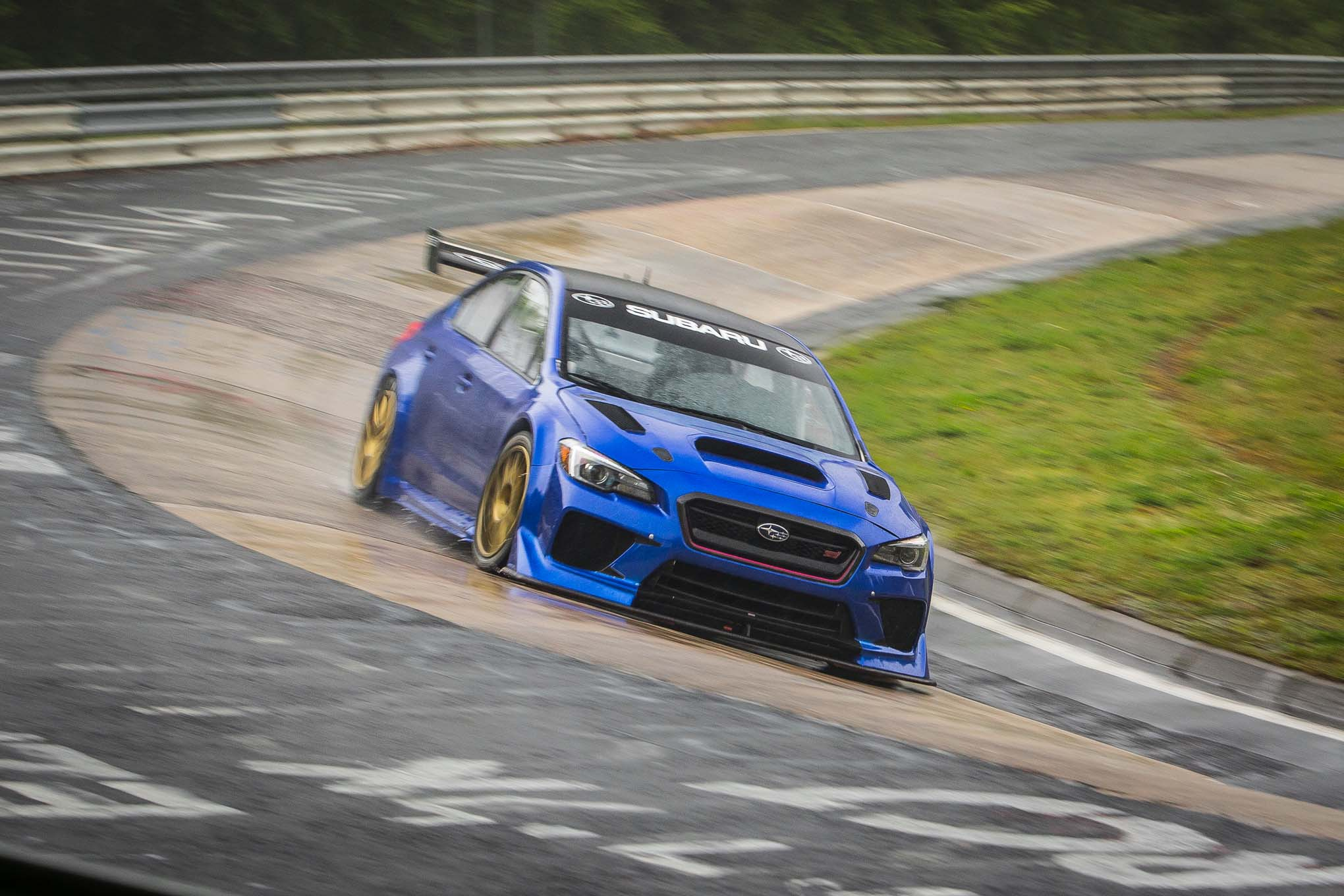 I Did Get A Chance To Learn About The Subaru Wrx Sti Ra Record Attempt Race Car As Prodrive S Project Manager Richard Thompson Gave Us Skinny