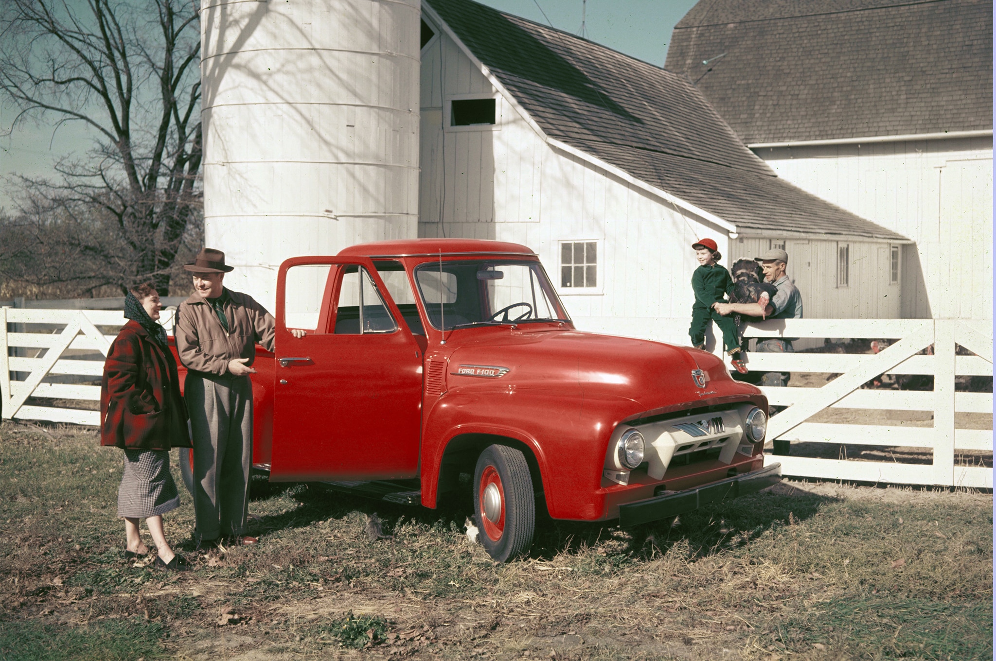 Ford Trucks Celebrates 100 Years Automobile Magazine 1954 Coe Truck Ecoboost