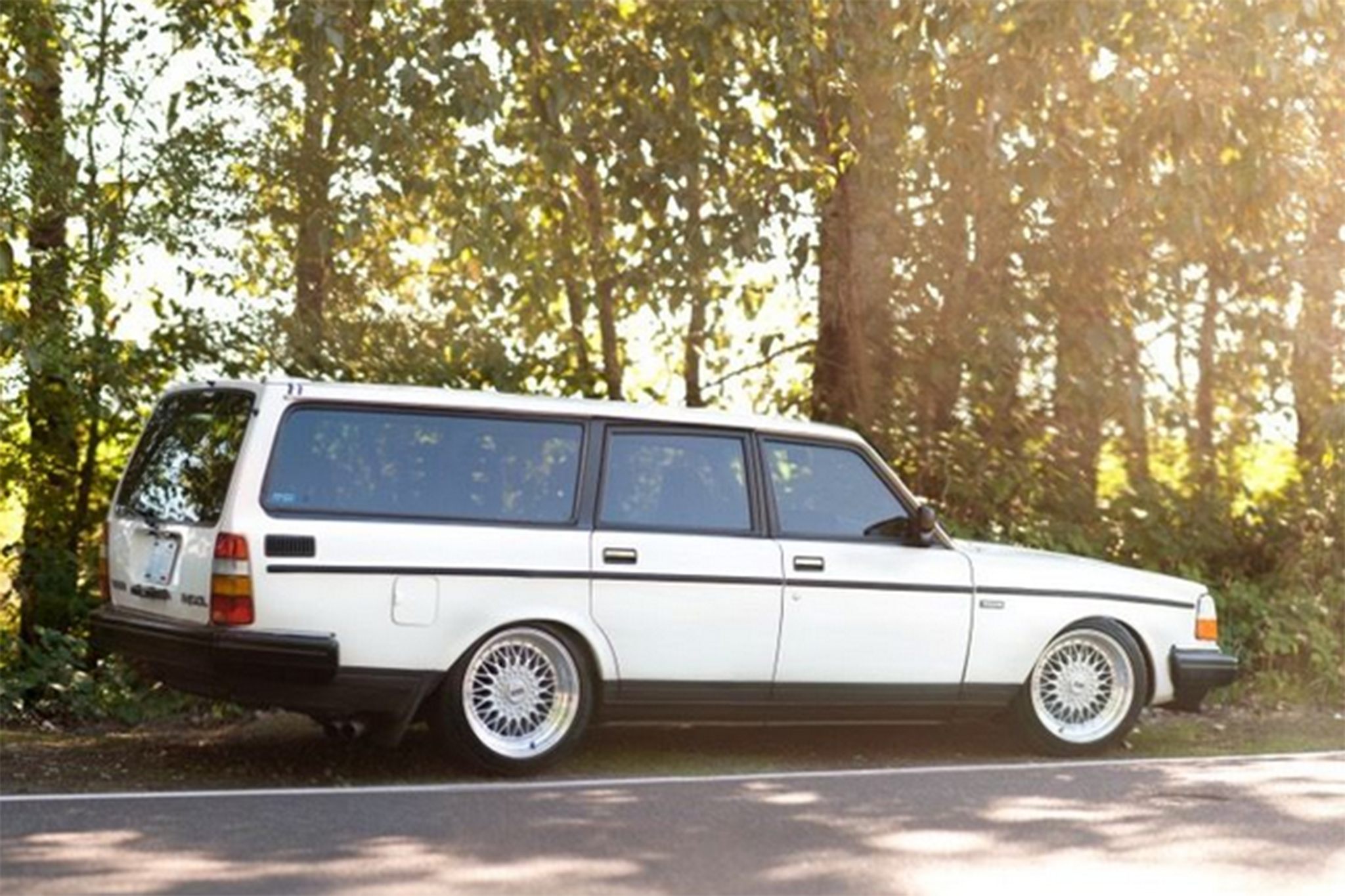 Just Listed: 400-Horsepower 1989 Volvo 240 Battlewagon | Automobile Magazine
