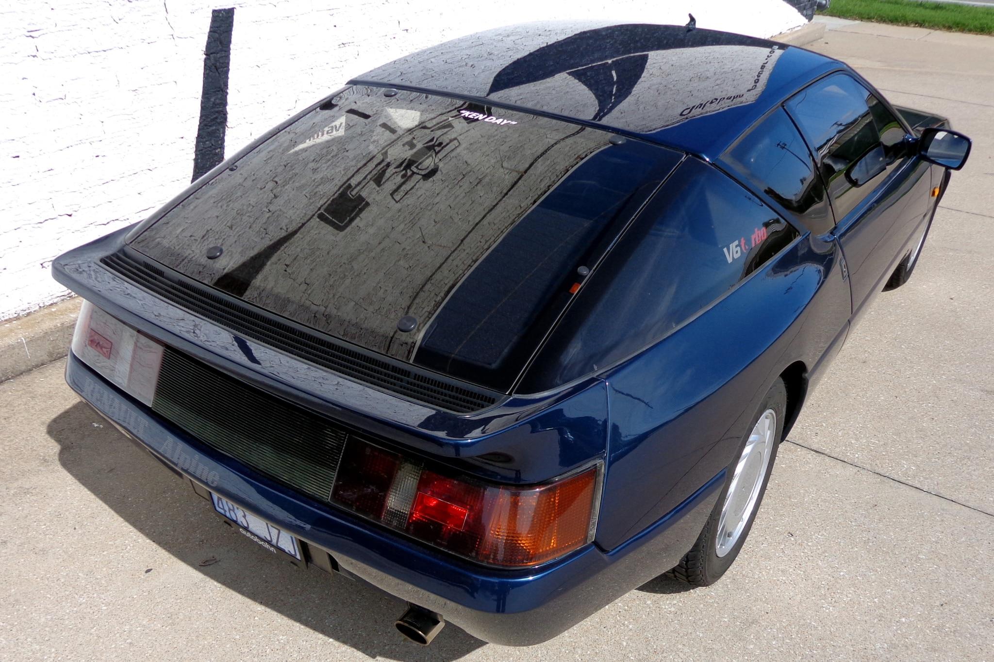 Just Listed: 1990 Renault Alpine GTA Turbo V6 | Automobile Magazine