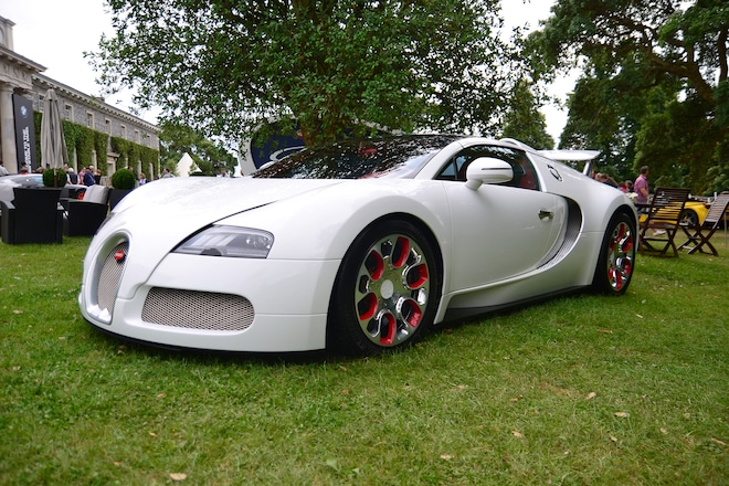 bugatti displayed 9,404 horsepower at the 2017 goodwood festival of