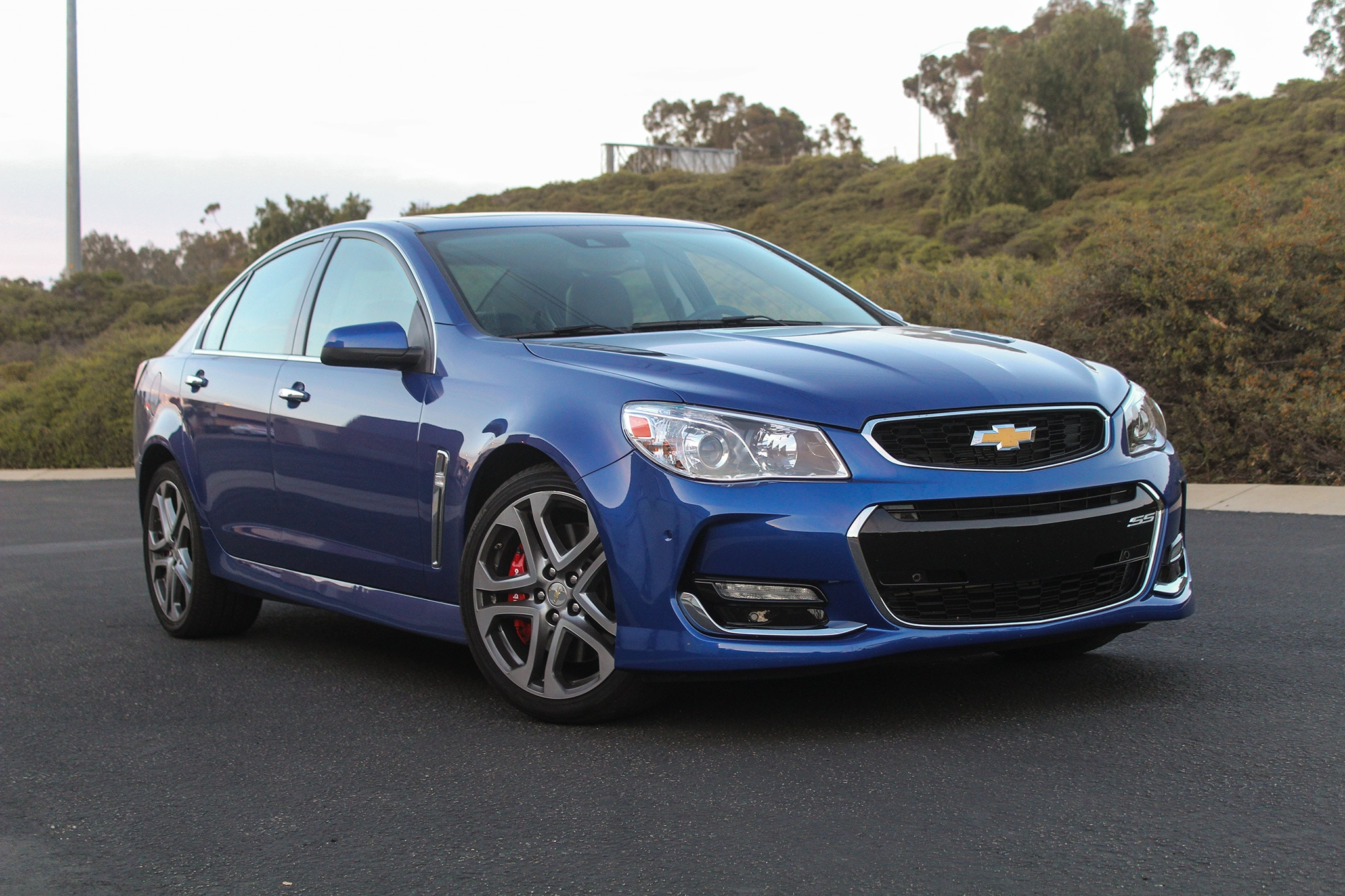 White Front Door 2017 Chevrolet Ss One Week Review Automobile Magazine