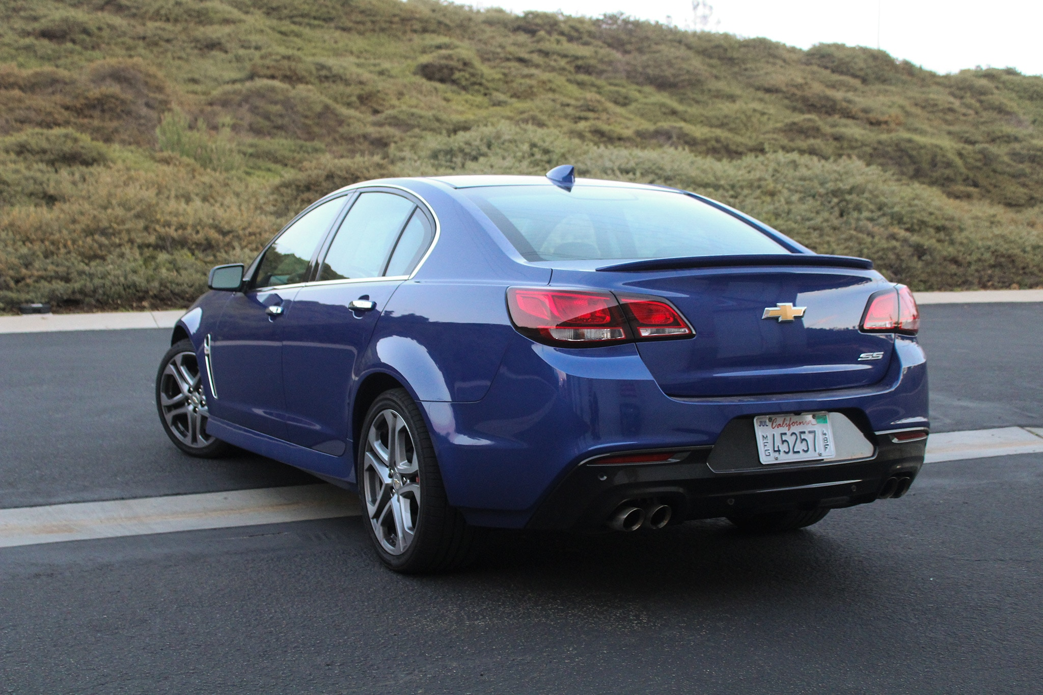 Chevy 0 60 >> 2017 Chevrolet SS One Week Review |Automobile Magazine