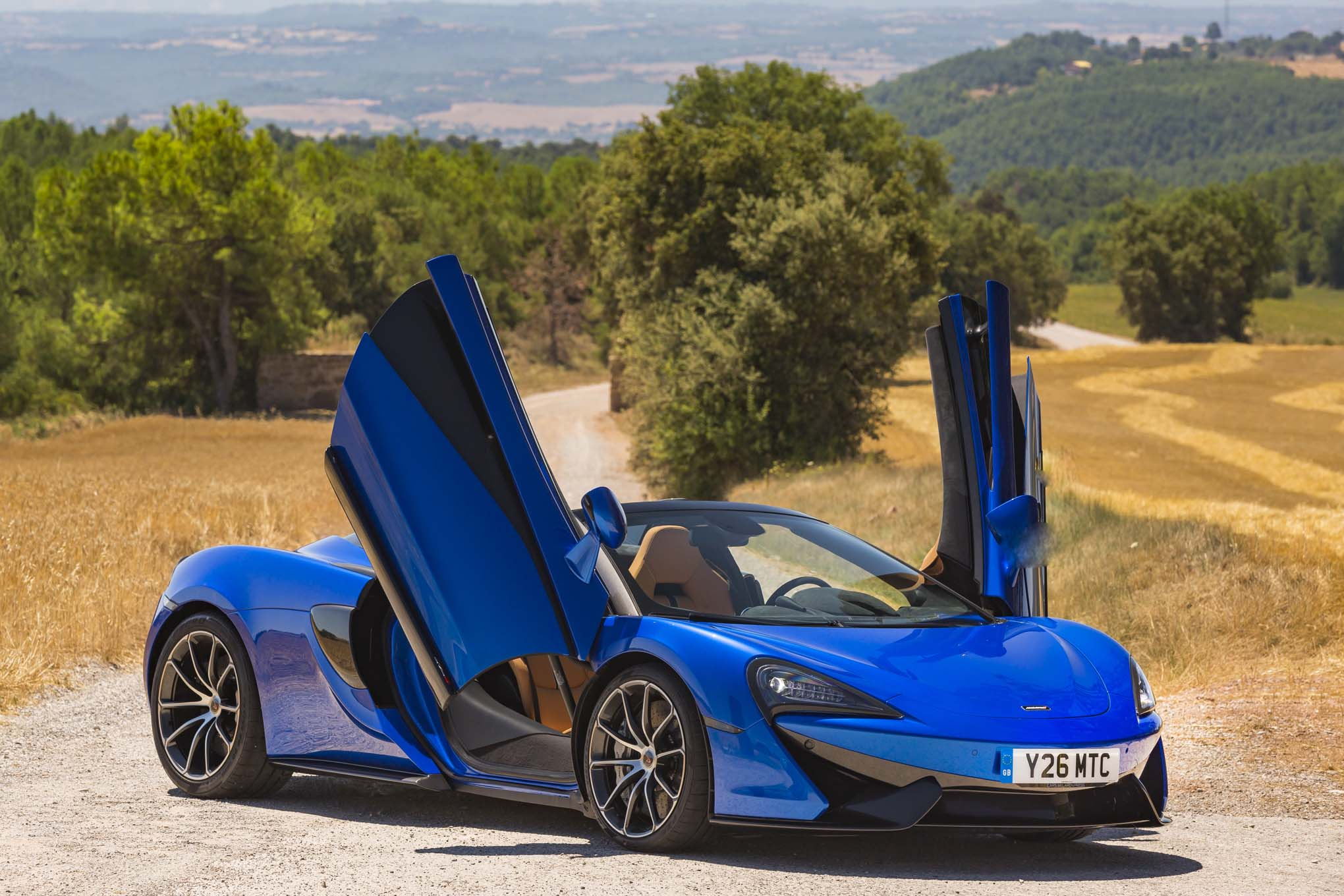 2018 mclaren 570s spider first drive review | automobile magazine