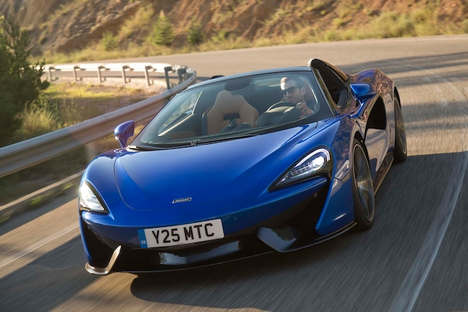 2018 Mclaren 570s Spider First Drive Review Automobile Magazine