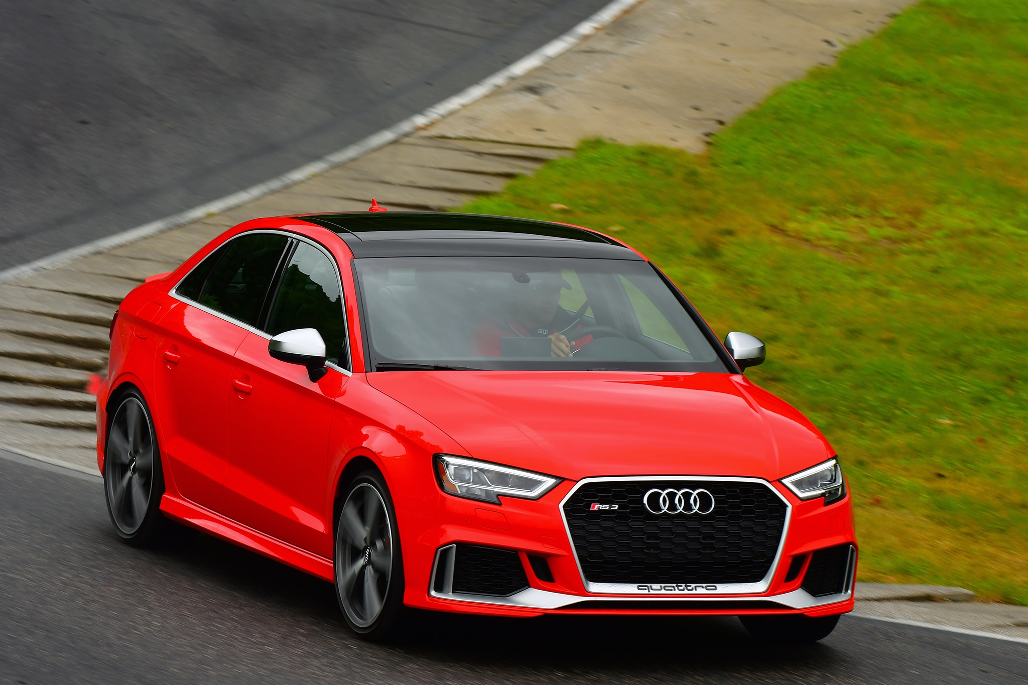 2018 Audi Rs3 First Drive Review Automobile Magazine