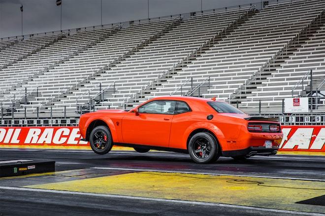 2018 Dodge Challenger SRT Demon At The Track 05