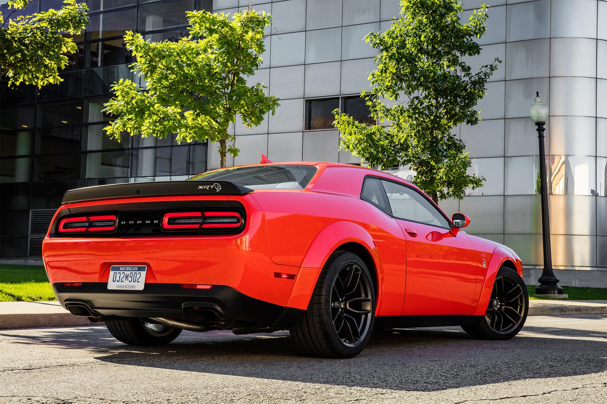 2018 Dodge Challenger Srt Hellcat Widebody Track Drive Review