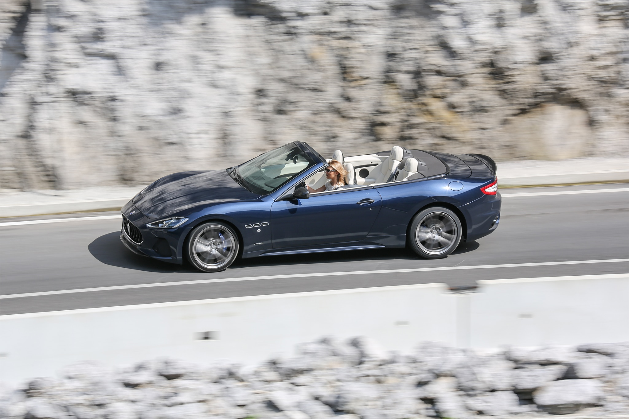 2018-Maserati-GranCabrio-Sport-side-profile-in-motion-01 Interesting Info About Maserati Spyder for Sale with Breathtaking Photos Cars Review